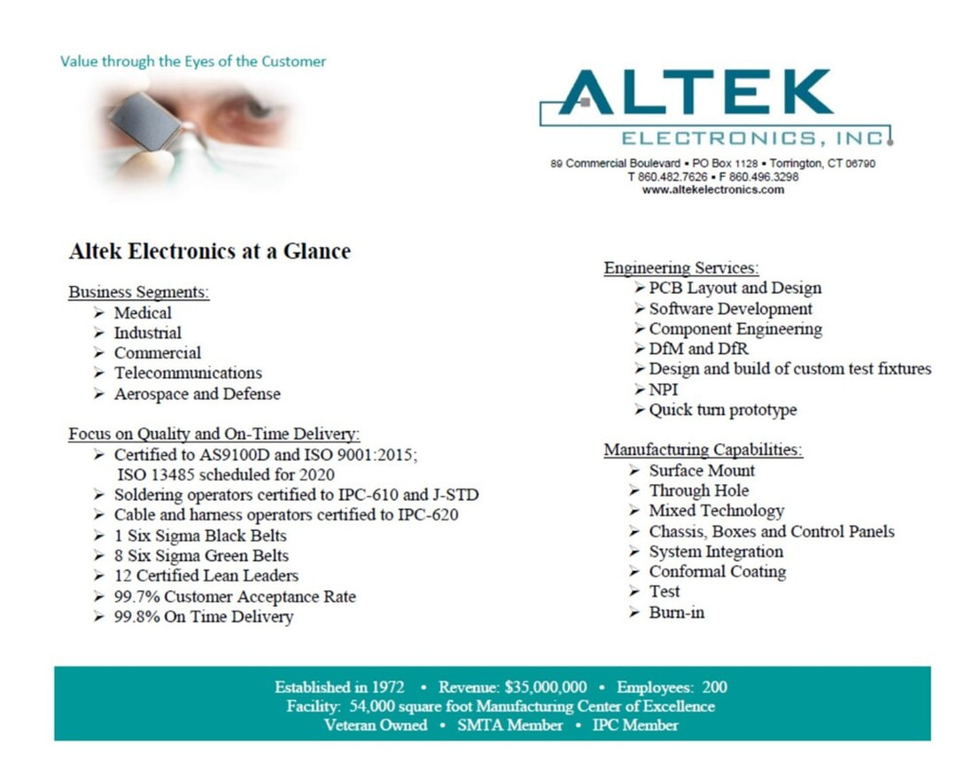 Altek Electronics represented by HOPEWELL Companies