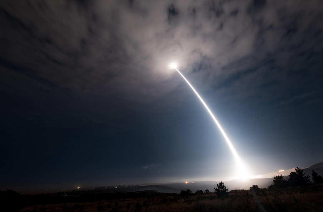 Minuteman III Missile, Air Force photo by SrA. Ian Dudley